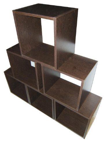 1297266058 165311343 1 cubos madera decoracion biblioteca - Cubos de madera ...